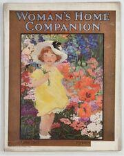 WOMAN'S HOME COMPANION 1923 Magazine PAPER DOLLS Coca Cola MAVIS Color Ads