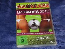 EM Babes 2012 - DVD, neu OVP - Der sexy heiße Pausenfüller mit Fußballbabes
