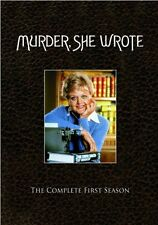 MURDER SHE WROTE COMPLETE FIRST SEASON 1 New 3 DVD Set