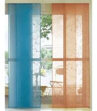 My Home Schiebevorhang 57x160 Flächenvorhang Vorhang Gardine Raumteiler blau