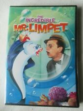 BRAND New DVD THE INCREDIBLE MR. LIMPET Don Knotts Movie Animated cartoon SEALED