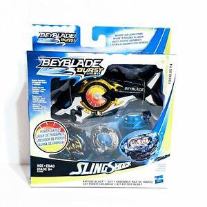 Beyblade Burst Turbo Slingshock Riptide Blast Set with Forneus F4 Bey