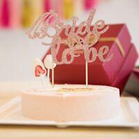 Cake Topper Glitter Birthday Wedding Party Cake Dessert Decorations Supplies