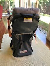 Higgledee baby/toddler backpack carrier for walking/hiking blue/grey