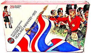 Airfix Waterloo Highland Infantry - 1815 - #51462 - 29 in mint original box