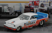 """Don Prudhomme's 75 Chevy Vega Funny Car """"ARMY"""" Drag Strip  New in Package!"""