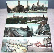 1907 Glasgow Scotland Lot of 15 Pictorial Postcards unused