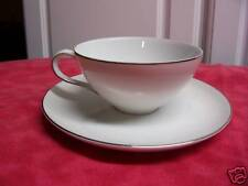 Style House Platinum Ring Cup & Saucer 3 cups 3 saucers