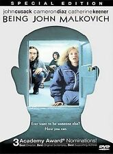 Being John Malkovich Special Edition (Dvd, 2000) Brand New - Factory Sealed