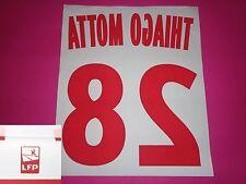 Flocage officiel PSG Paris T. MOTTA n°28 2012 13 domicile