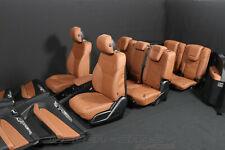 Mercedes X166 GLS Leder Innen Ausstattung 7 Sitzer BRAUN Memory Sitze elektrisch