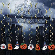 Halloween Party Decoration  Hanging pumpkin ghost Paper Decoration TasselX1 BDAU