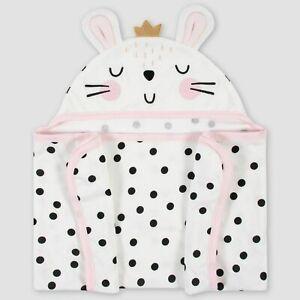 Gerber Baby Bunny Hooded Bath Towel Wrap