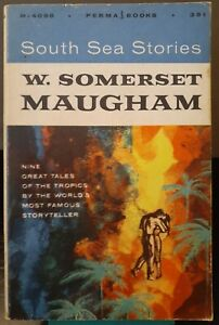 SOUTH SEA STORIES (1956, Vintage Paperback) W. Somerset Maugham POCKET PERMABOOK