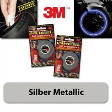Felgenrandaufkleber silber special, 5 mm, 6 m + Aufklebehilfe, bis 18 Zoll, 4505