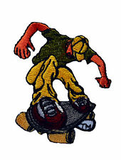 Skateboard Iron On Patch grunge hawks punk skate jacket denim anarchy emo decks