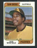 1974 Topps #456 Dave Winfield EXMT/EXMT+ RC Rookie Padres 123545