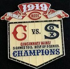 CINCINNATI REDS VS WHITE SOX 1919 WORLD SERIES PIN MLB LICENSED