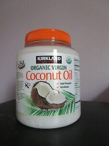 Original Kirkland Organic Coconut Virgin Oil USDA Approved Sealed 84 fl oz