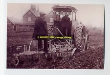 rp5629 - Old Tractor Ploughing - photo 6x4