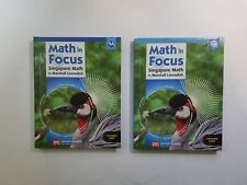 Math in Focus Grade 4 Textbook Set A and 4B Common Core Singapore Math 2013