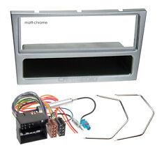 Opel Meriva A 06-10 1-DIN Autoradio Einbauset Radioblende matt-chrome