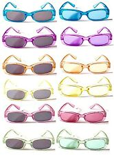 BW31 Kids Crystals Sparking Pastic Flame UV400 Protect Sunglasses Jelly Colour^^