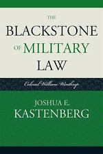 THE BLACKSTONE OF MILITARY LAW - NEW PRE-LOADED AUDIO PLAYER BOOK
