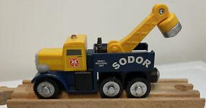 Sodor,Butch,THOMAS & FRIENDS,WOODEN TRAIN,Y4503,Heavy Recovery Unit,truck,2012