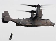 MILITARY AIR CRAFT CHOPPER HELICOPTER RESCUE CV22 OSPREY POSTER ART PRINT BB905A
