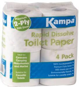 kampa Rapid Dissolve Toilet Tissue