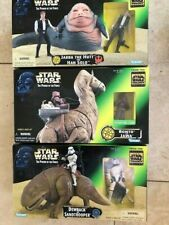 3 X STAR WARS POWER OF THE FORCE BOXED SETS BNIB