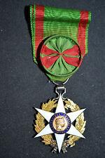I3 Superbe médaille officier du mérite agricole avec sa rosette FRENCH MEDAL
