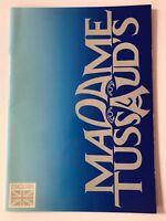 **MADAME TUSSAUDS UK TOUR TOURBOOK PROGRAMME 1989 - EXCELLENT CONDITION**
