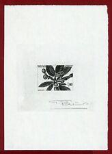 Monaco 1985 #1472a, Artist Signed Die Proof, Japanese Medlar Tree, Spring
