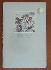 BRITISH SHELLS by F. Martin Duncan 1943 rare HB