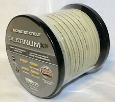 Monster Platinum XP High Performance Speaker Cable 50ft/15.24m Navajo White