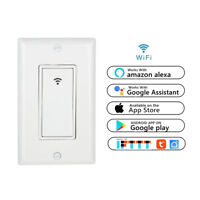 Smart Light Switch WiFi In-Wall Remote For Alexa Google Assistant Life IFTTT App