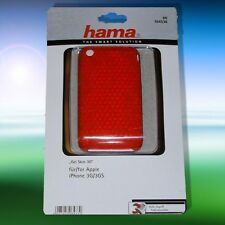 Hama Silikontasche/ Case Gel Skin 3 D, Apple iPhone 3G/ 3GS, rot, NEU !!!
