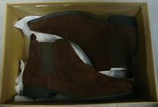 NEW! ASOS DESIGN chelsea boots brown faux suede Men's Size UK7