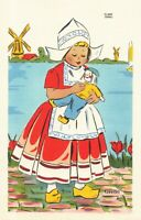 Postcard Gretel Dutch Girl Jondall