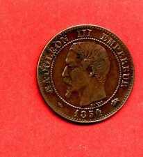(BR.66 )2 CENTS NAPOLÉON III 1854 D (LYON) PETIT D et Grand Lion (SUP) TRES RARE