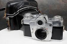 - Zeiss Ikon Contarex Bullseye 35mm Camera Body