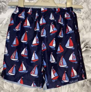 Boys Age 6-12 Months - Jojo Maman Bebe Swimming Shorts