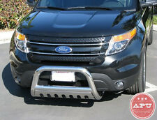 APU 2011-2019 Ford Explorer Stainless Bull Bar Grille Bumper Brush Guard