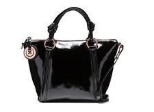 Mimco  Supernatural Mini Tote Hand Bag Bnwt Rrp $399 Black Rosegold
