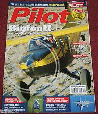 Pilot Magazine 2011 August F-15,Enstrom 480,Taylor Titch,Expedition Bigfoot