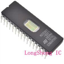 10PCS 27C801 ST IC EPROM UV 8MBIT 100NS 32CDIP NEW M27C801-100F1