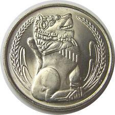 elf Singapore 1 Dollar 1981  Lion