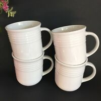 """Set of Four (4) Casual Settings by Oneida """"Kenley"""" ~ Replace Coffe Mugs ~ White"""